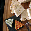 Beurre de roquefort & beurre de chorizo
