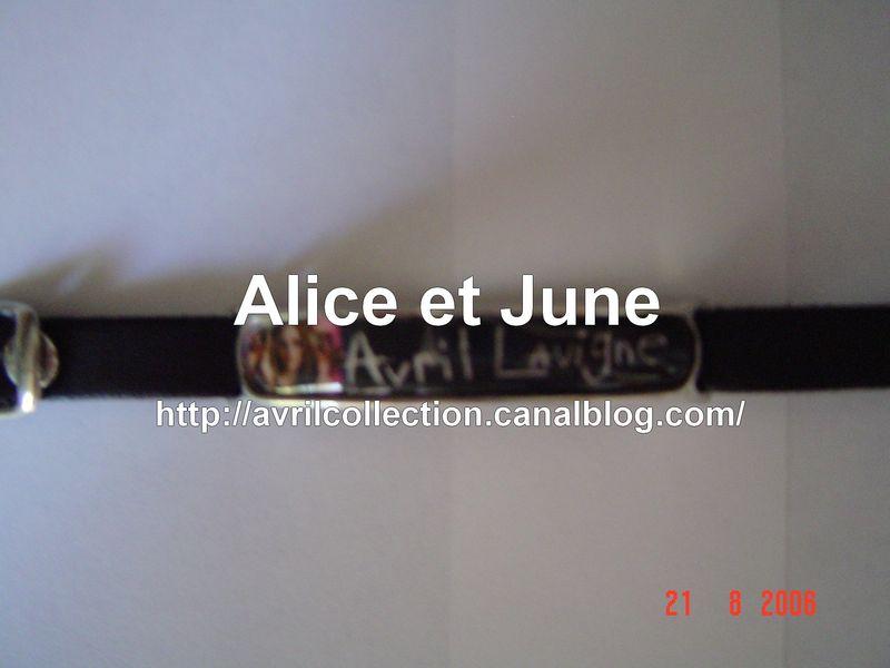 Bracelet Avril Lavigne (Unofficial)