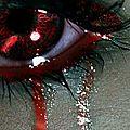 Des larmes de sang
