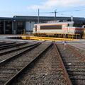 BB 7292 sur la plaque tournante du dépôt de Bordeaux St jean