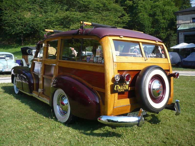 CHEVROLET Fleetmaster Woody Wagon 1947 Baden Baden (2)