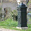 Boite aux lettes en fonte (Bou - Loiret - 45)