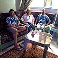 Karim, , Houssein Benbrahim et Miloud Kohaili