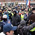 71 d - manifestation unitaire avec les Gilets jaunes