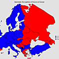 Diplomatic recognition of Kosovo in Europe