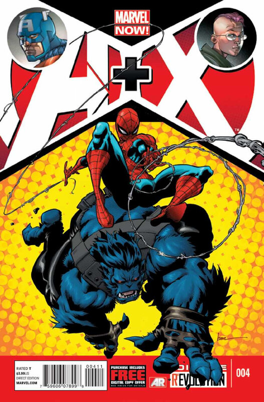 A+X 04 spiderman beast