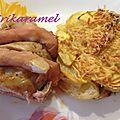 Filet mignon de porc façon orloff bacon/chèvre ou bacon/mozarella