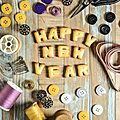 Happy sewing year !