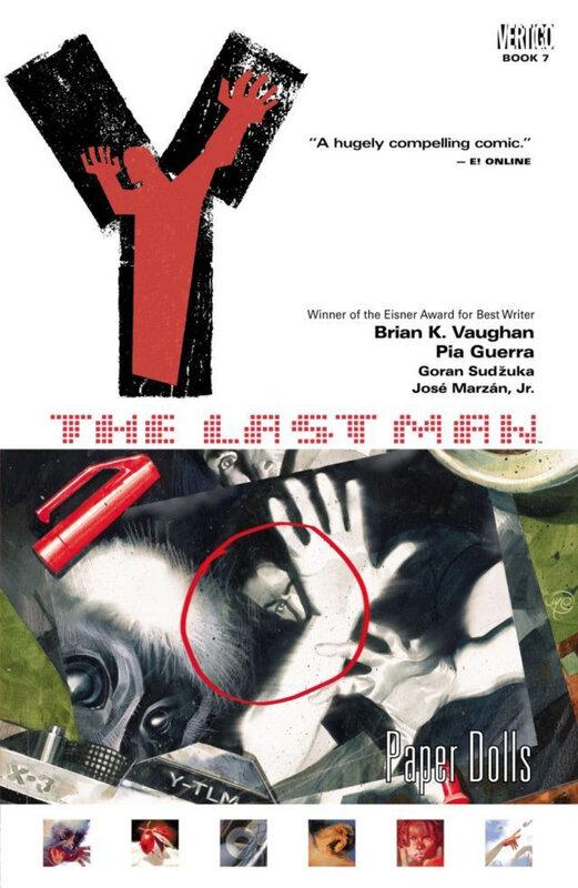vertigo Y the last man vol 07 paper dolls TPB