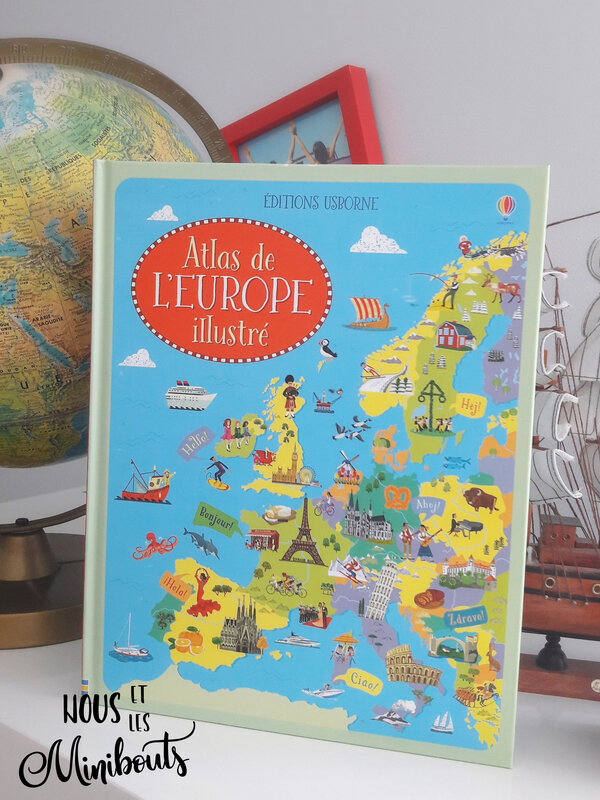 atlas europe usborne 5