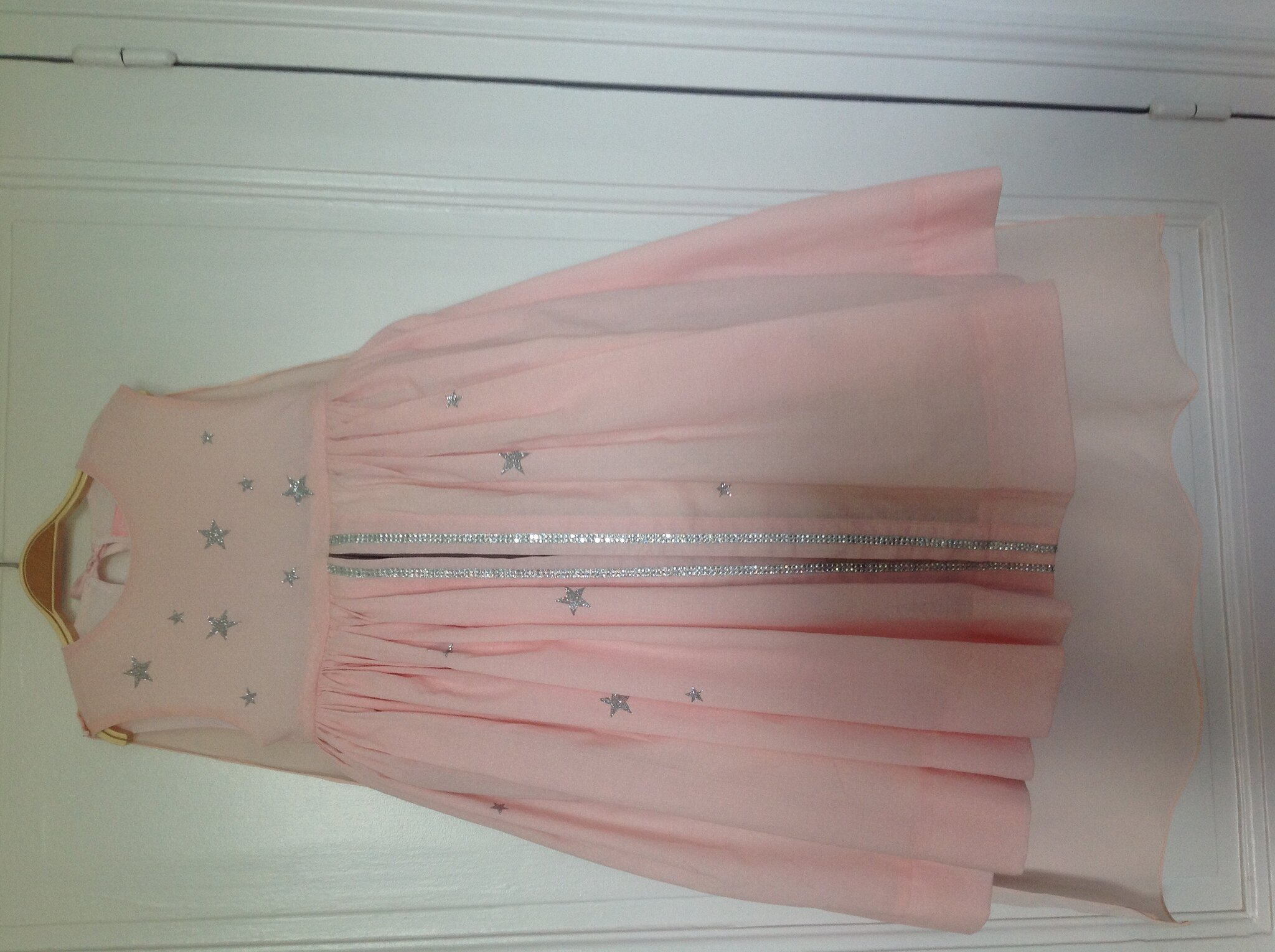 Robe de princesse étoiles