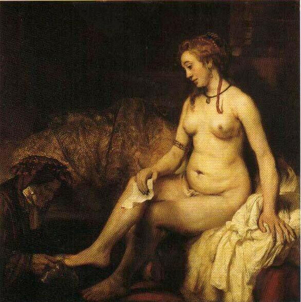 01 - Bethsabée au bain, 1654