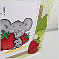 July's challenge - strawberry mouse