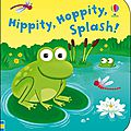 Hippity hoppity splash bath book
