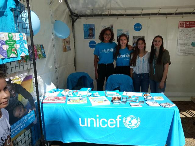unicef stand marly le roi