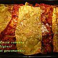 La cuisine du placard: lasagnes aux aubergines et au thon