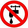 Coupure d'eau : que faire ?