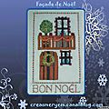 Broderies: creations pour noël