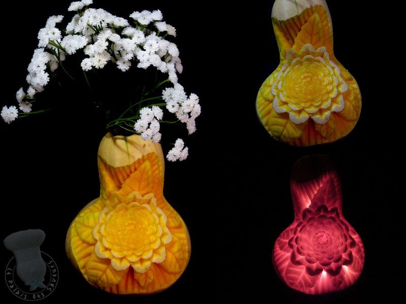 Vase butternut