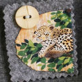 badge leopard