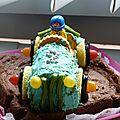 gâteau voiture