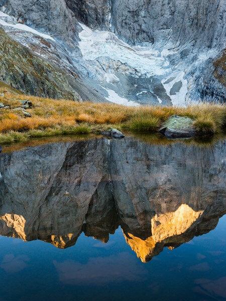 3-Reflet glacier du Vignemale