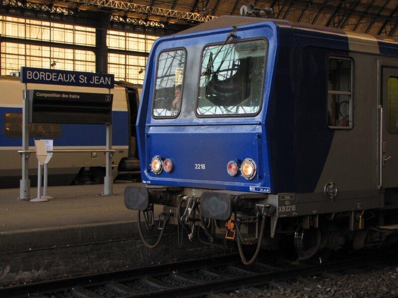 X 2218 en gare de Bordeaux