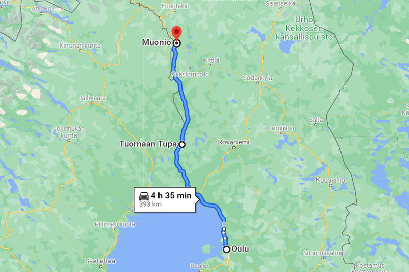 1_North_of_the_Arctic_Circle_Oulu-Muonio_Map2
