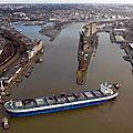 Le grand port maritime de rouen échappe à la crise mais pour combien de temps encore?