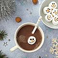 Chocolat chaud à la pâte à tartiner #vegan #glutenfree