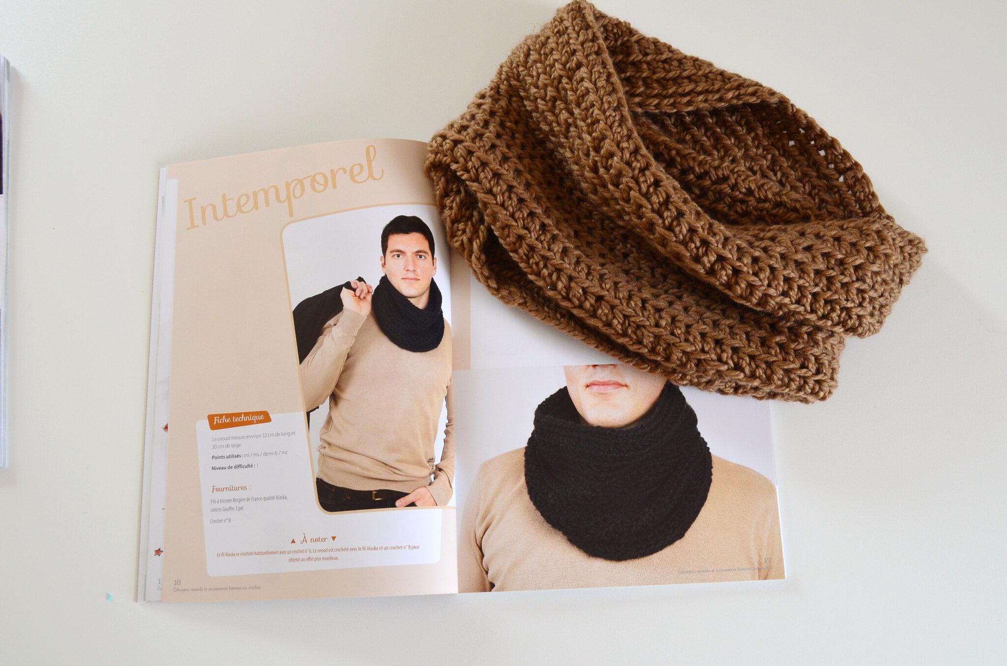 Snood-crochet-laine-creapassions-La chouette bricole (3)