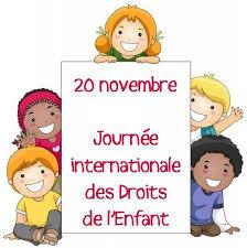 journée internationale des enfants