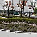 Rond-point à whangarei (nouvelle-zélande)