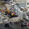 Boycott caterpillar / démolition des maisons palestiniennes