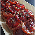 Toasts tomates balsamique