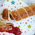 Pretzel dog, le hot dog encore meilleur que le hot dog!