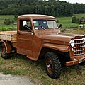 Willys overland flatbed-1951