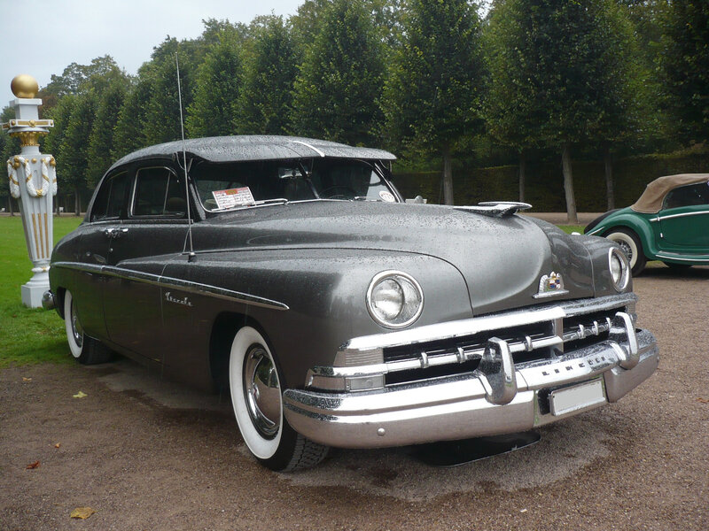 LINCOLN Cosmopolitan 4door Sedan 1950 Schwetzingen (1)