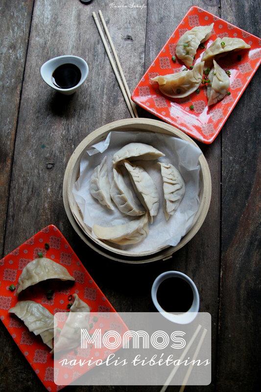 Momos: raviolis tibétains