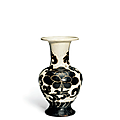 A_very_rare_small_Cizhou_sgraffiato__Peony__vase__Northern_Song_dynasty__960_1127_