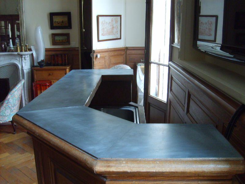 recouvrement d 39 un bar en zinc le dire c 39 est bien le. Black Bedroom Furniture Sets. Home Design Ideas