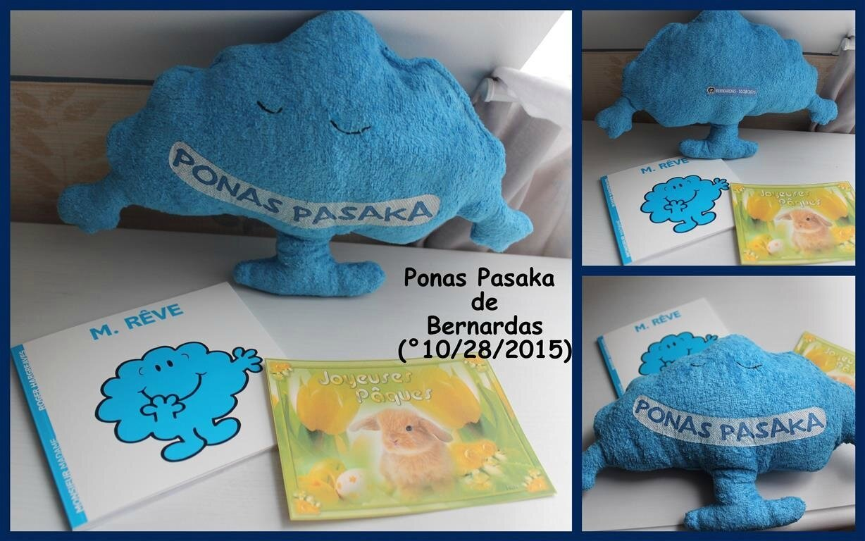 Ponas Pasaka de Bernardas-Pâques 2017