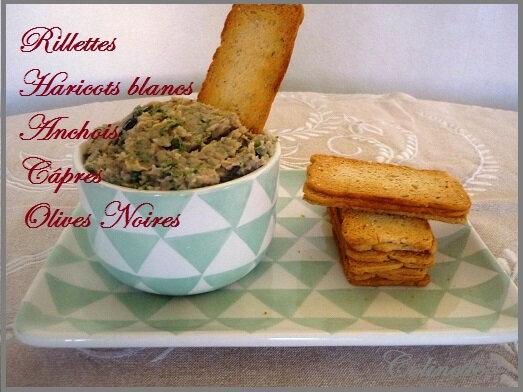rilletes haricots blancs anchois olives capres 01