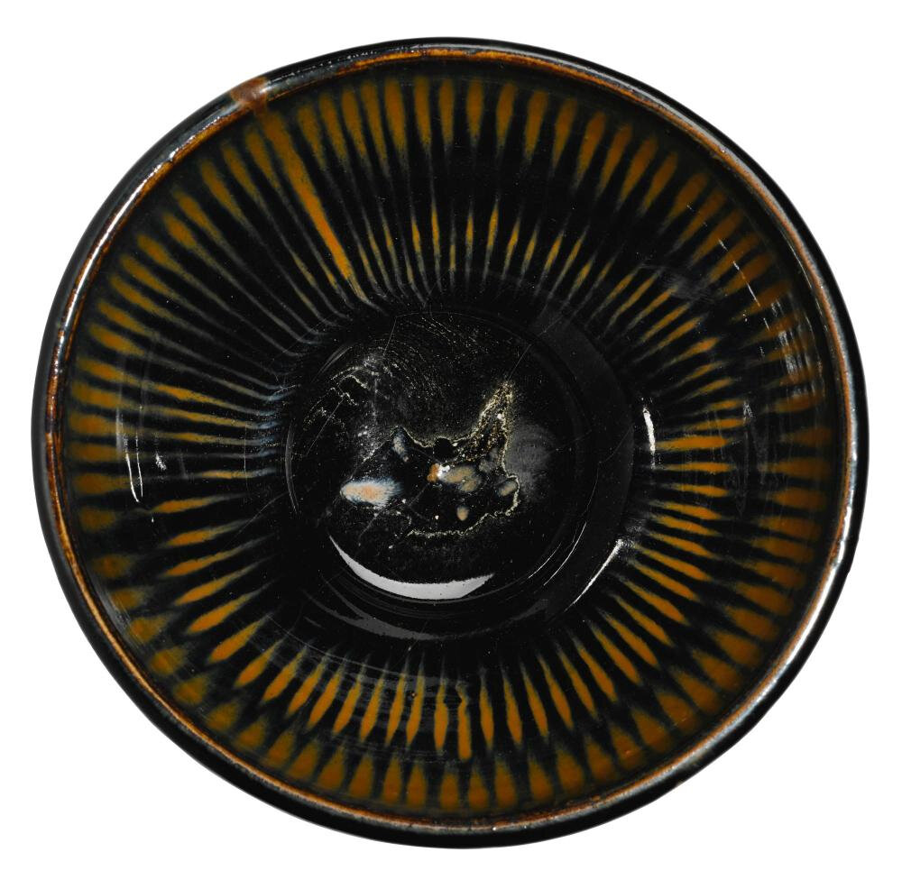 A 'Cizhou' russet-streaked bowl, Yuan dynasty (1279-1368)