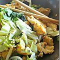 Oeufs sautés façon thaï aux pousses de soja
