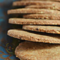 Digestive biscuits, version un peu rustique