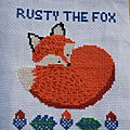 Rusty the fox