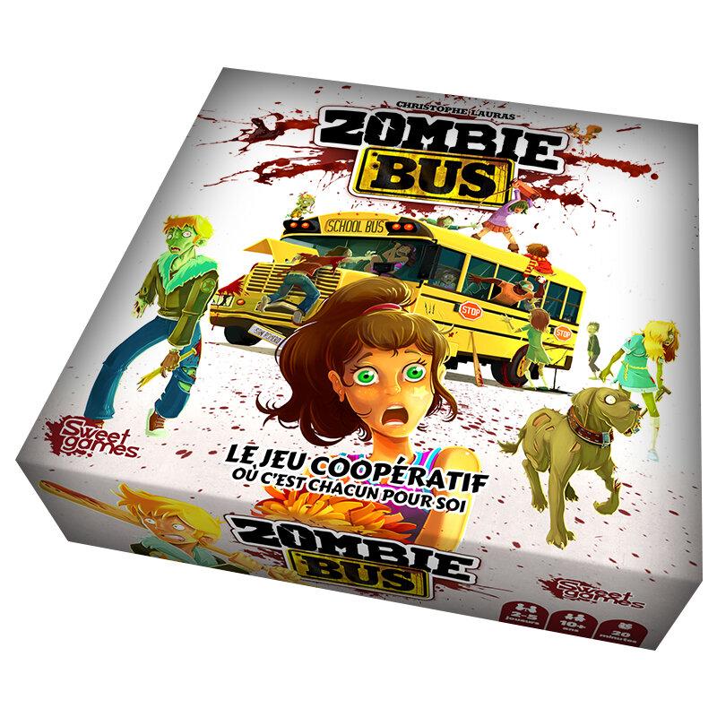 Boutique jeux de société - Pontivy - morbihan - ludis factory - Zombie bus