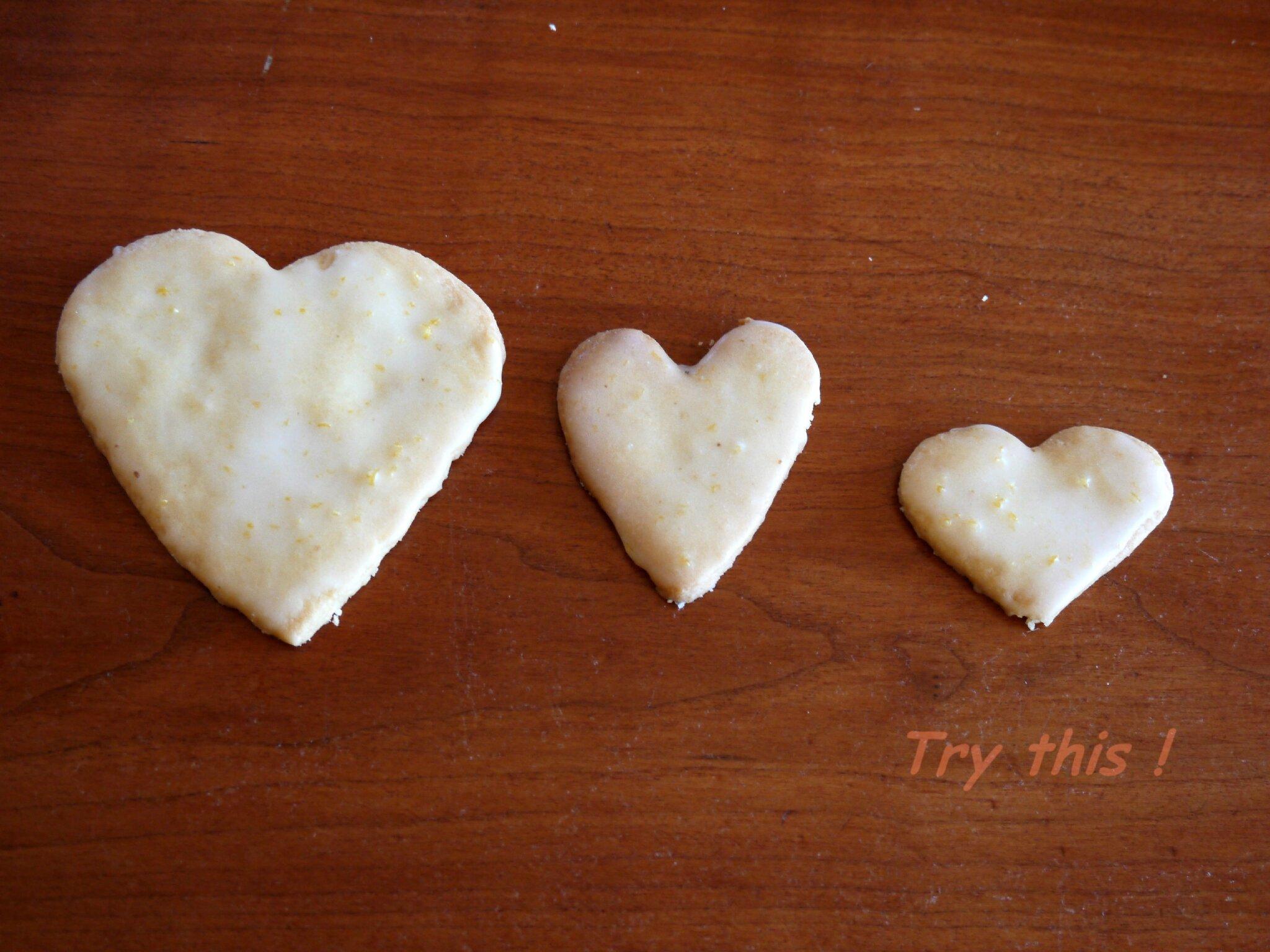 Coeurs citron