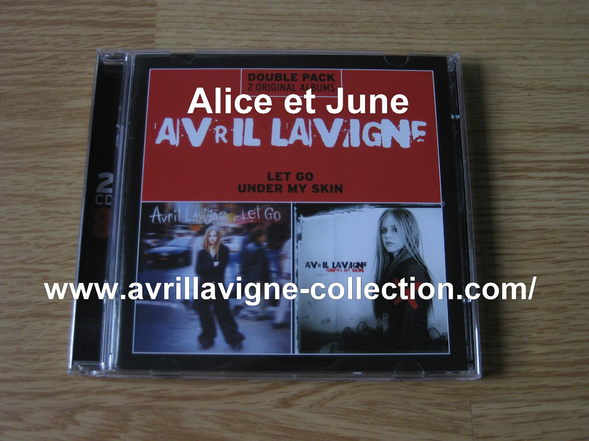 CD double pack Let Go et Under My Skin (2013)